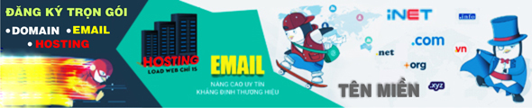 ĐK hosting domail email